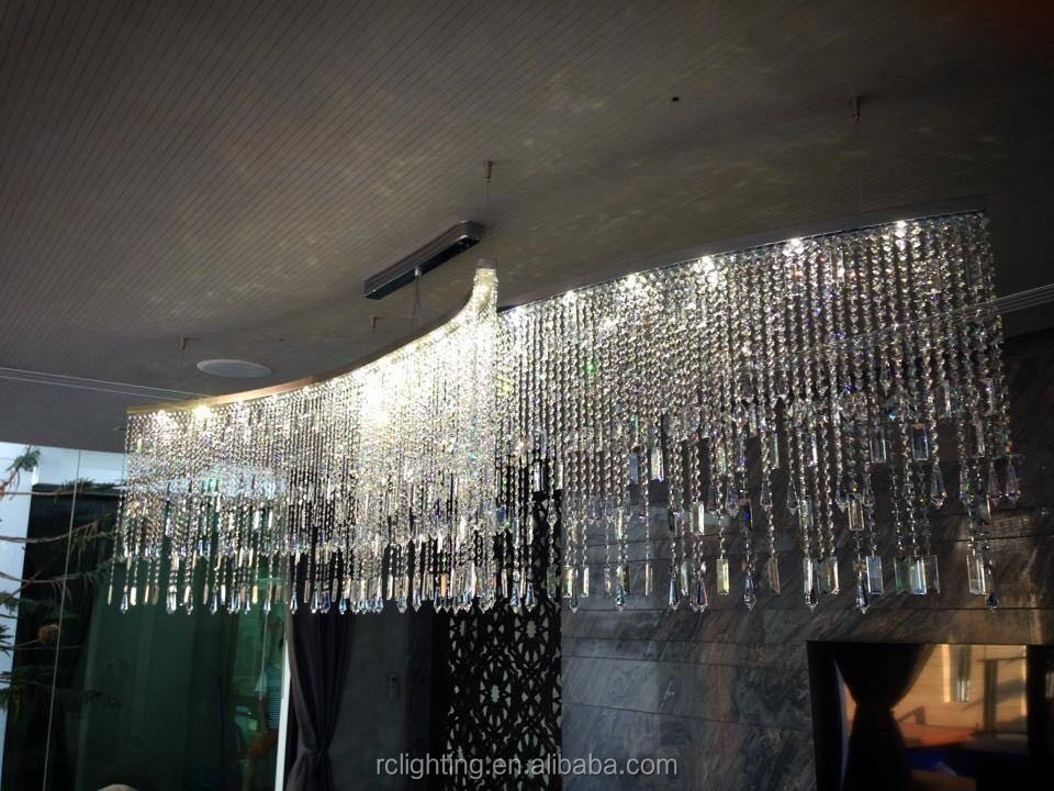 Hotel project customer made Crystal Chandelier