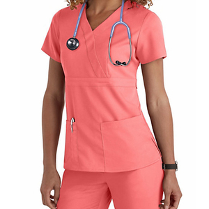 Factory OEM hospital nurse uniforms, clinic uniform, scrubs uniforms design