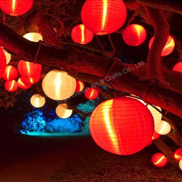 Hanging Outdoor Chinese Lantern With Led Light Product On Alibaba