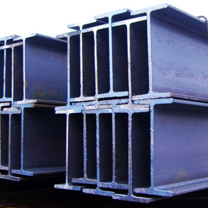 supply High quality ss400 hot rolled steel h beam, h beam price, mill h beam