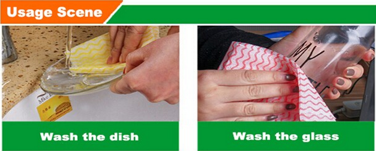 Spunlaced Multi-purpose Cleaning Wipes