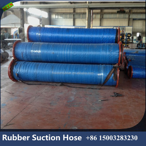 DN 400 Flange fittings suction pipe for ladder dredge rubber hose