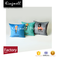 Printed velvet cushion covers office chair back support cushion covers