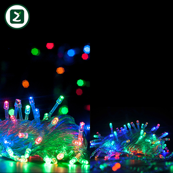 Colorful Short String Christmas Lights Led Lighting Fireworks Light