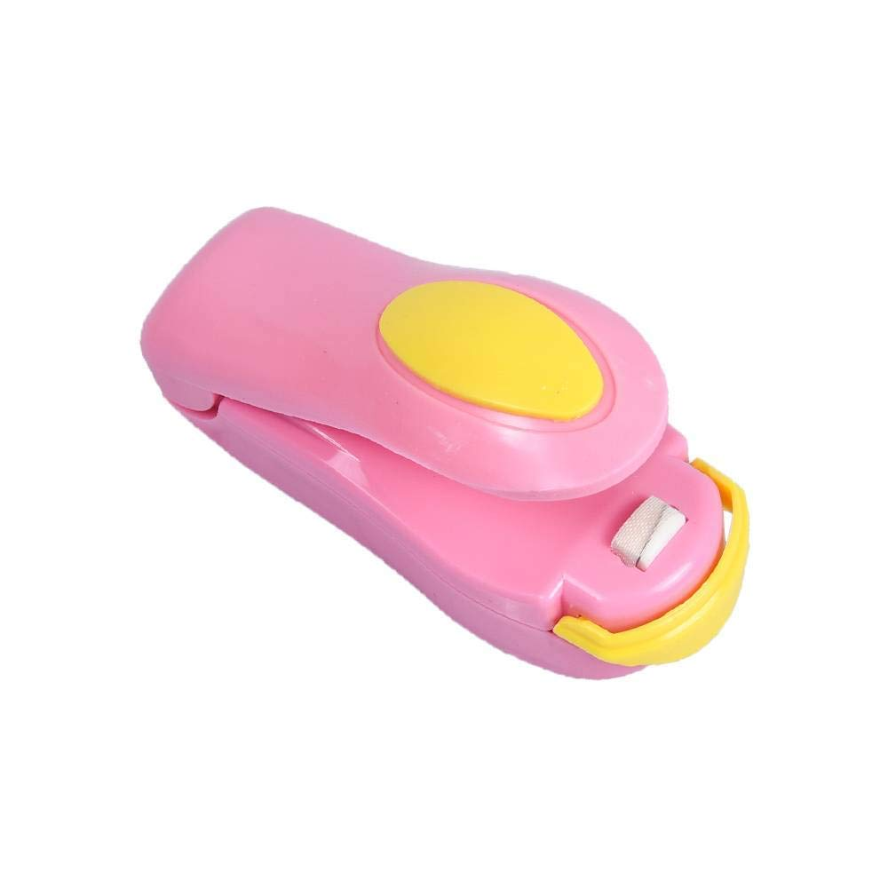 Mini Sealing Machine Heat Sealer Capper Food Saver Portable Hand Pressure Plastic Bags