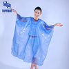 B10031 waterproof pvc hairdressing capes hair cutting capes all purpose chemical cape