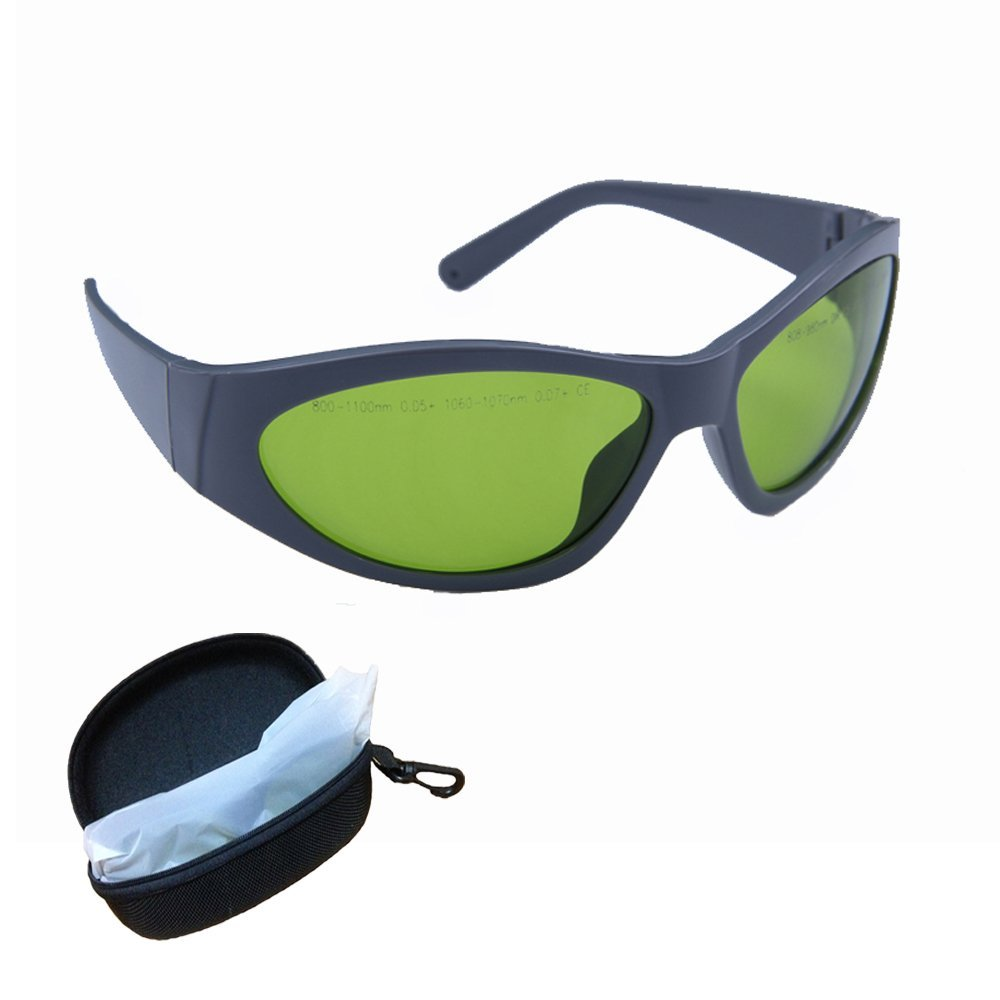 800 – 1100nm ,Diode, Nd:yag Laser Safety Glasses Multi Wavelength Laser Protective Goggles for Physician and Medical Laser Technician, industry
