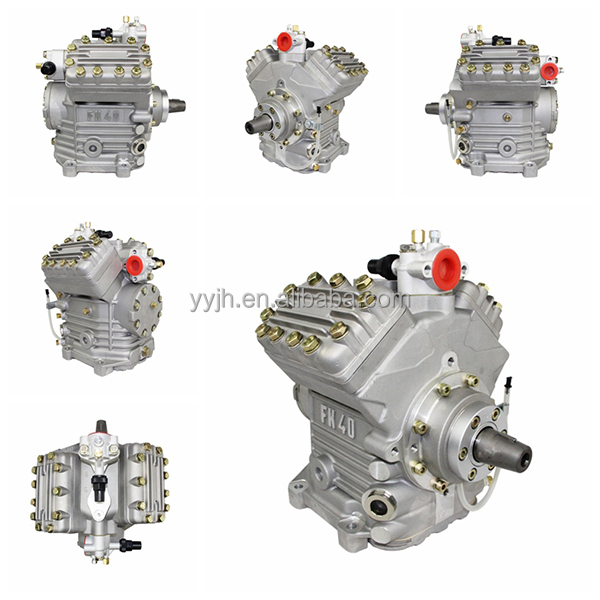 Hot Sale Bock Fk40 New Auto Air Compressor Fk40-655k,Bus Auto Ac ...