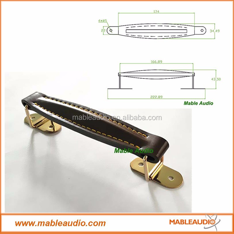 high quality leather handle for guitar amp cabinet buy speaker handles leather handle speaker. Black Bedroom Furniture Sets. Home Design Ideas
