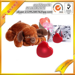 programmable heartbeat Voice recorder sound module for plush toy