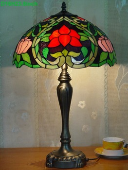 traditional 16inch hot Selling Tiffany Table Lamps from factory