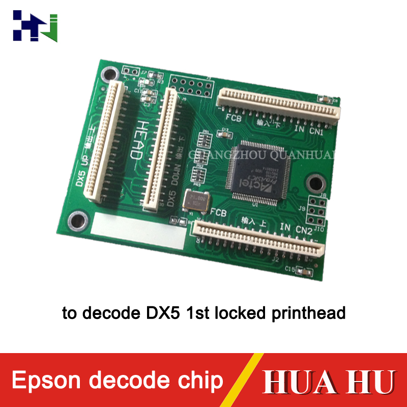 Decoder chip for epson decode DX5 1st locked printhead,spare parts for DX5 printer head