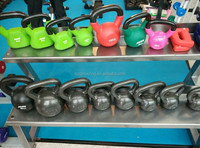 Weight lifting equipment type free weight kettle bell muscle training AMA-9939L