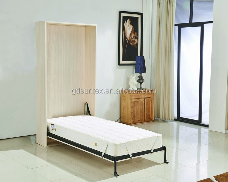 Venta caliente ahorro de espacio cama murphy pared oculta for Camas ocultas en muebles