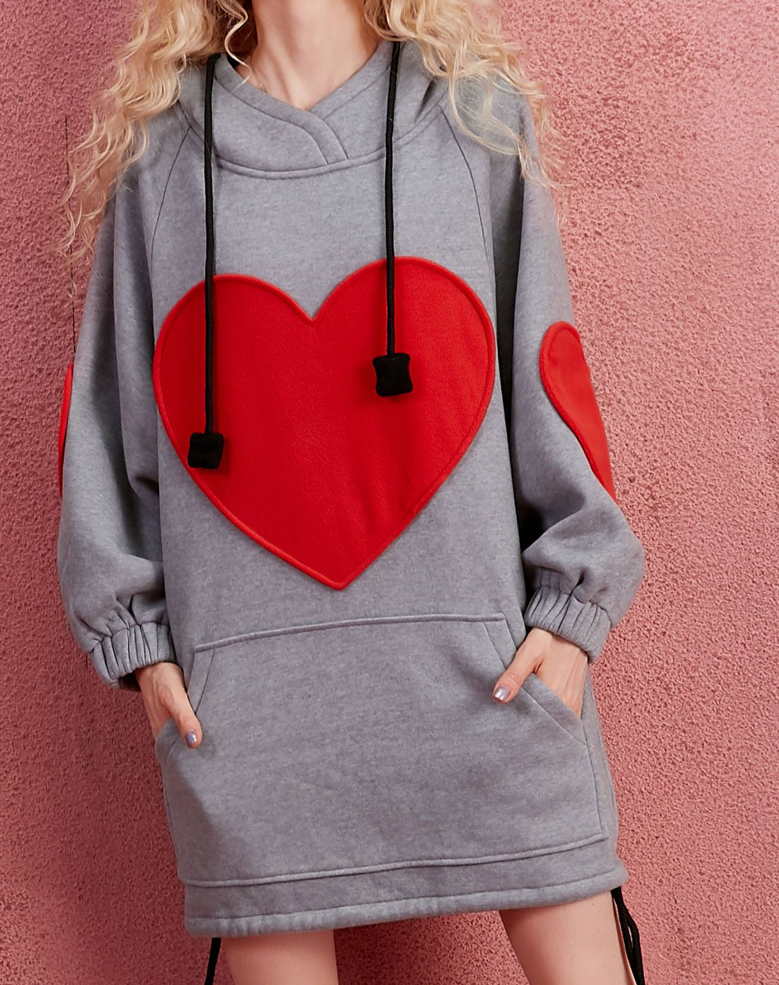 Loose Love Hooded Sweater