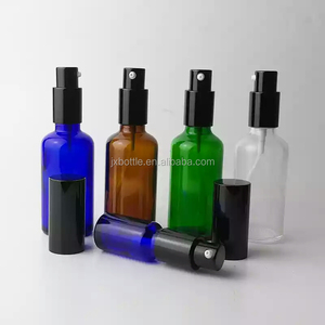 Wholesale Perfume Cosmetic 30ml 1oz 2ozAmber Frosted Glass Mist Sprayer Pump Bottles