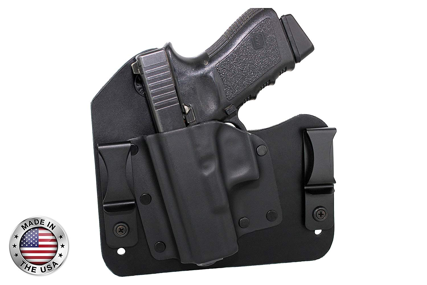 Everyday Holsters Glock 19, 23, & 32 Hybrid Holster IWB Left Hand