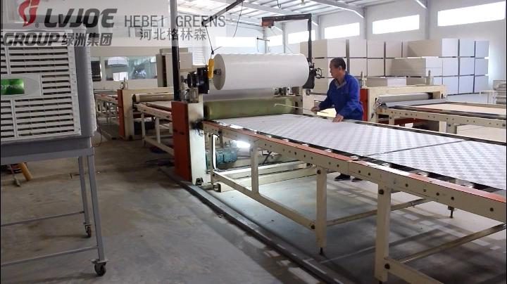 easy operation small automatic laminating machine high profitable project