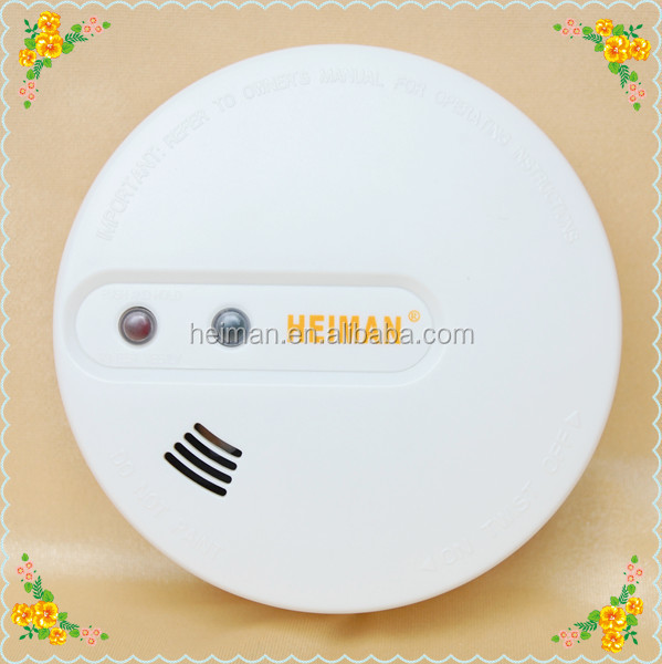 110V/220V AC interconnected smoke alarm sensor support back up battery