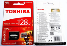 TOSHIBA <span class=keywords><strong>MicroSD</strong></span> Class 10 UHS Exceria (90 mb/s) dengan adaptor