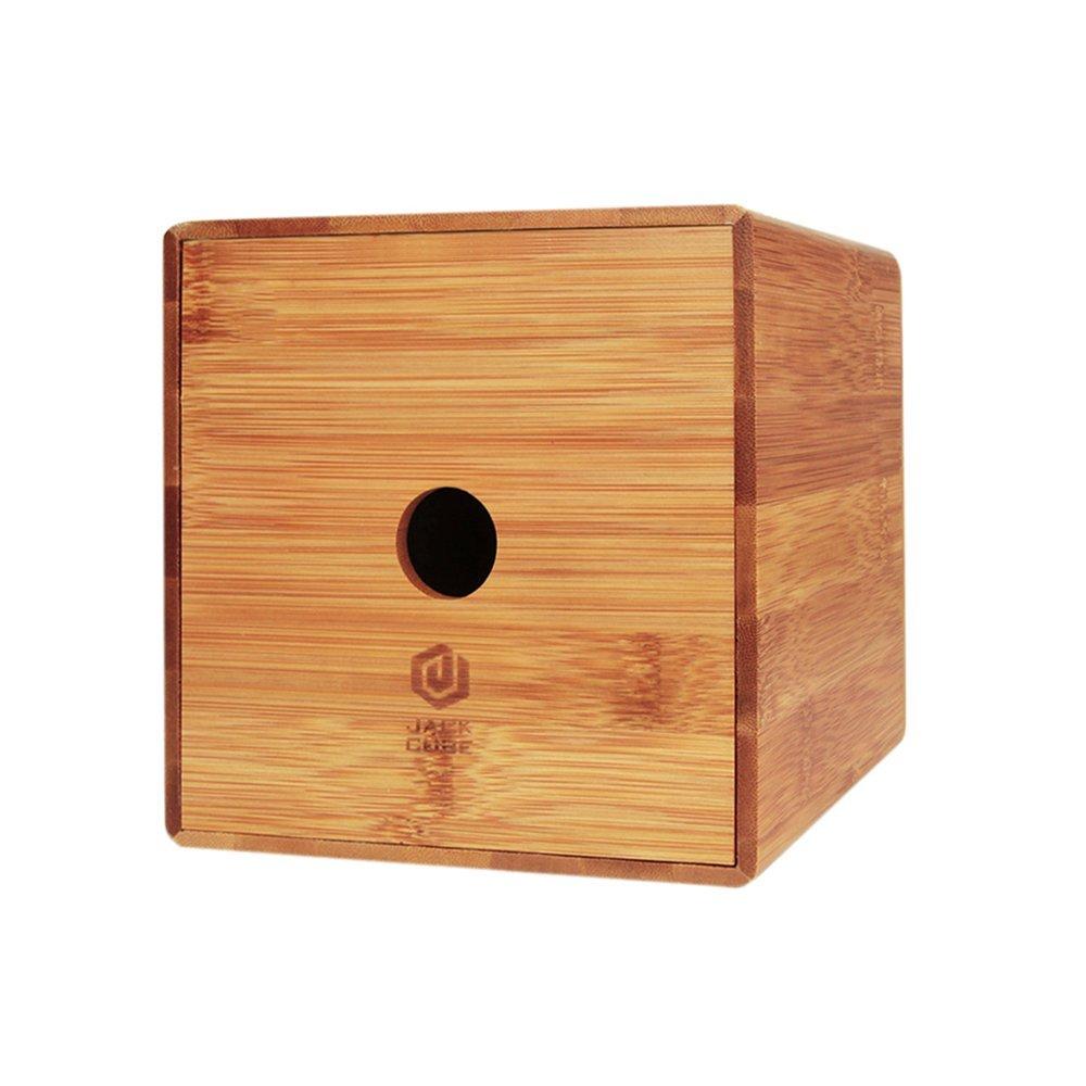 wooden tissue box TB-18061105 Details 5