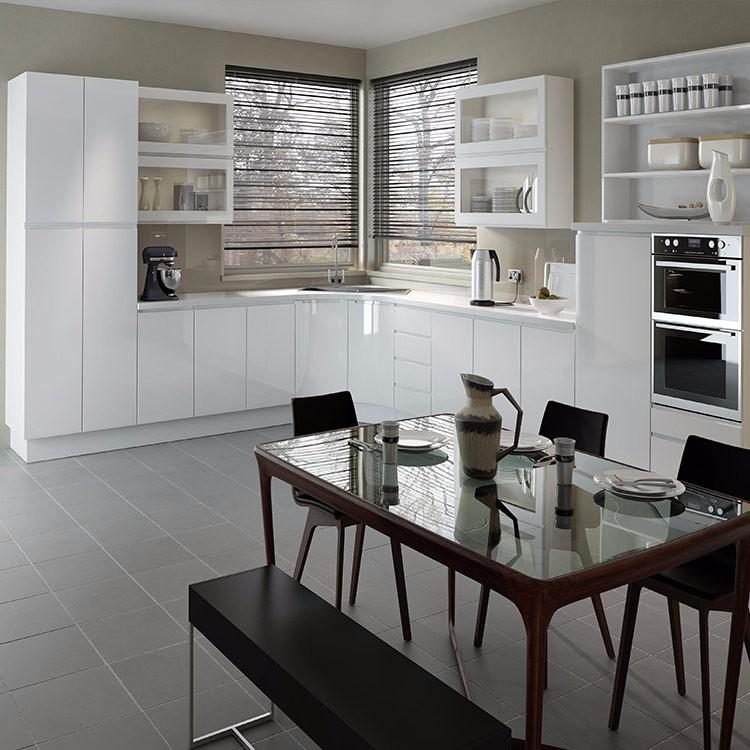 Wood Cupboard Mdf Kitchen Cabinet Crown Moulding Design ...