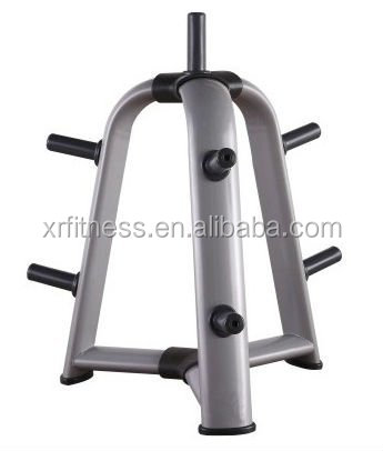 gym equipment commercial standard weight plate tree rack stand xh45