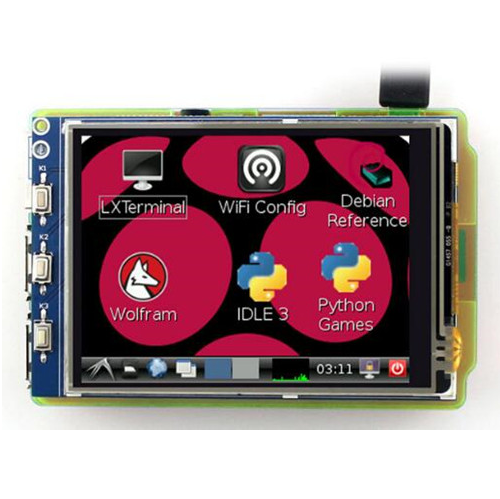 3.2 inch SPI TFT LCD Screen with Touch Panel XPT2046 Controller 320*240 for Raspberry Pi Model B/B+