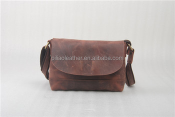 Wholesale genuine leather shoulder bag for lady