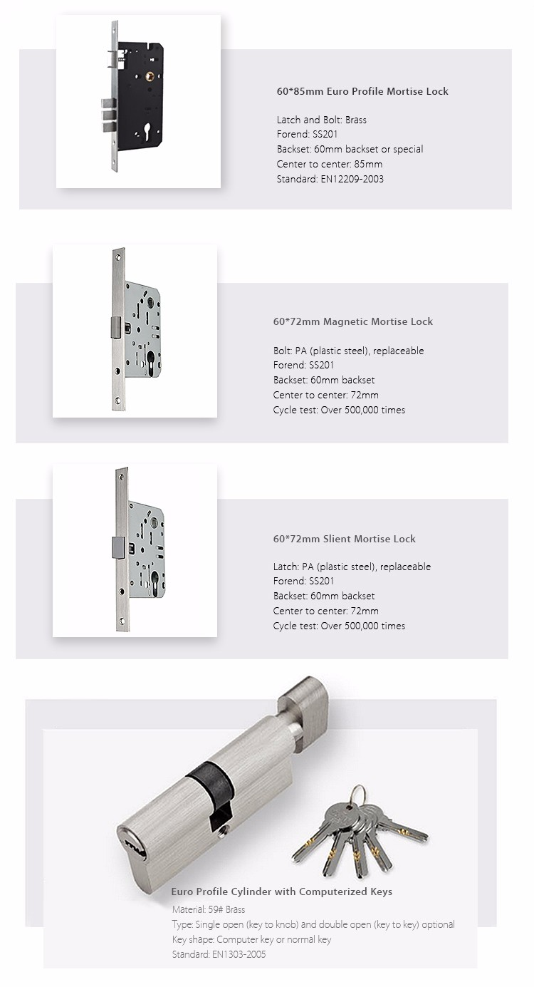Interior Door Lock Types types quality polished chrome locks on heavy plate home door key