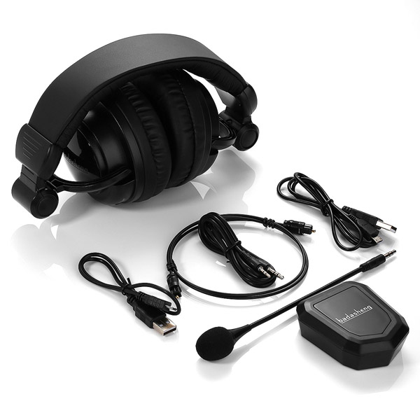 For PC/ P S3/PS 4/Xb ox one/Xb ox 360/TV 2.4GHz wireless Gaming Headset For Xbox One Headset
