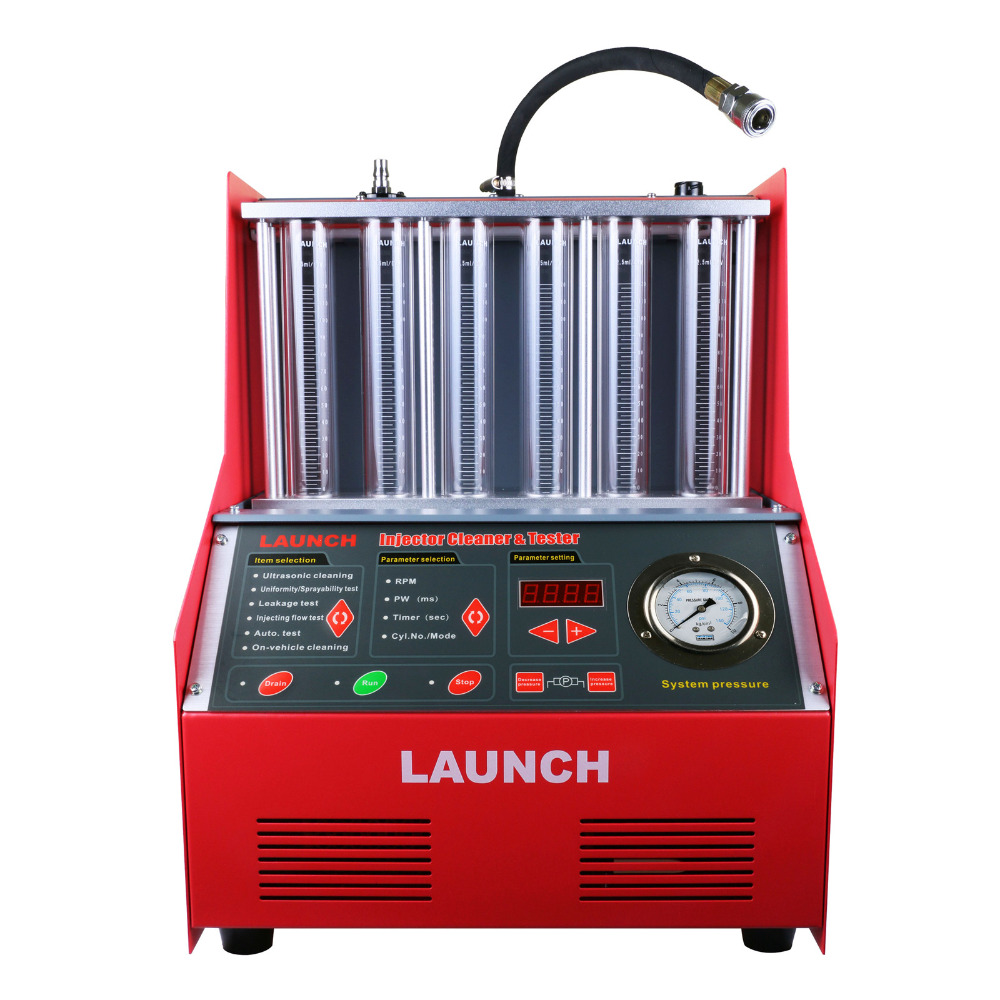 Vendita caldo 100% Originale Del Lancio CNC 602A Injector Cleaner & Tester con L'inglese Panel Lancio CNC602A CNC-602A
