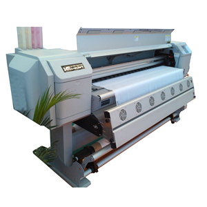 Digital silk scarf printing Direct to textile mutho printer