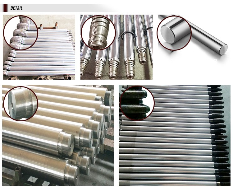 f7 tolerance hollow piston rod for hydraulic cylinder