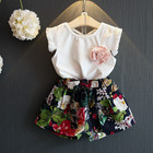 high quality Summer Girls Clothing Sets Kids Clothes Hot Sale Children Clothing Set