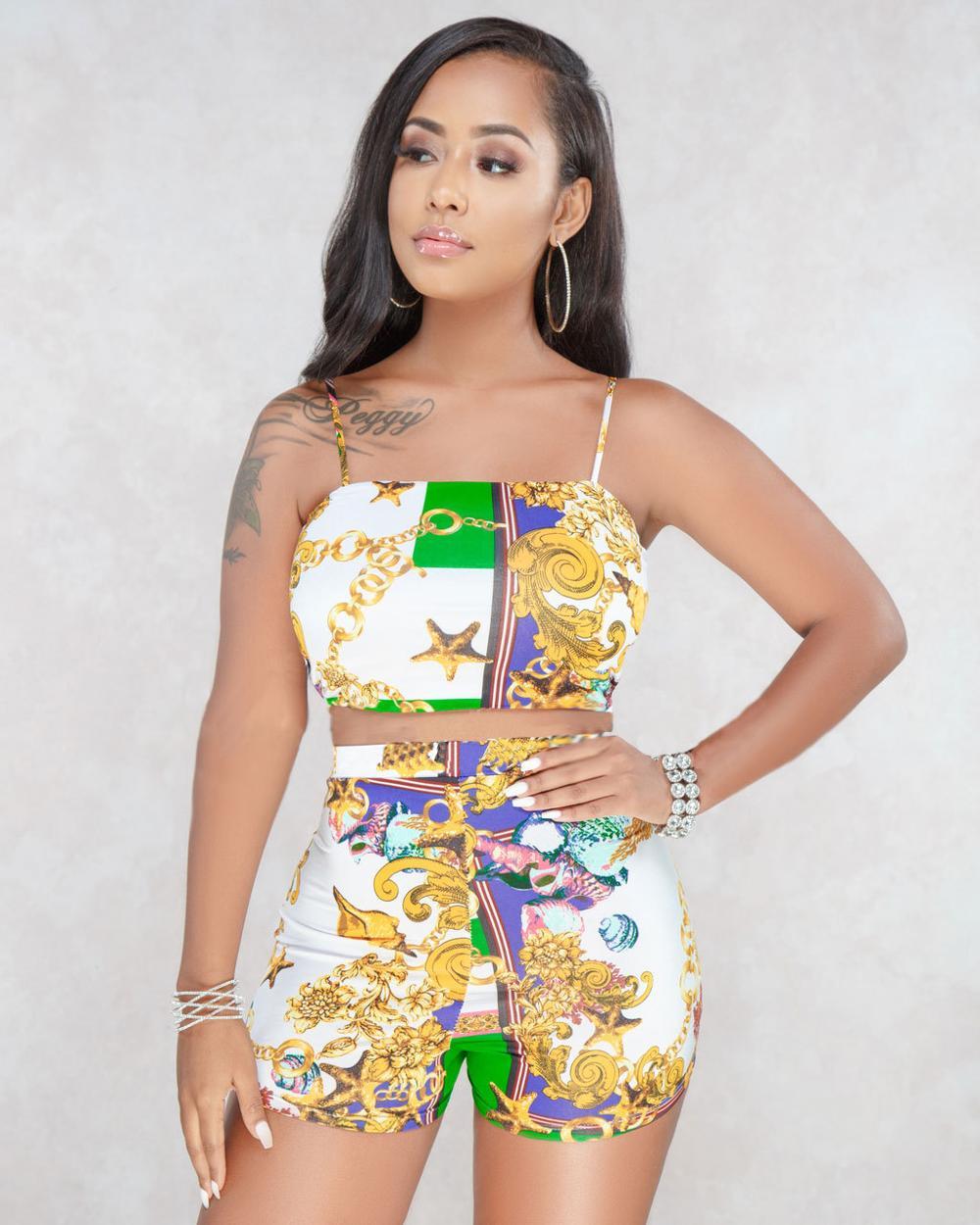 9011 Backless Blouse Hot Shorts Floral Two Piece Set Women - Buy Two Piece  Set Women Clothing Sexy b7c00b2eca