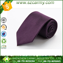 Stock Customized Best Men Red Jacquard silk Tie