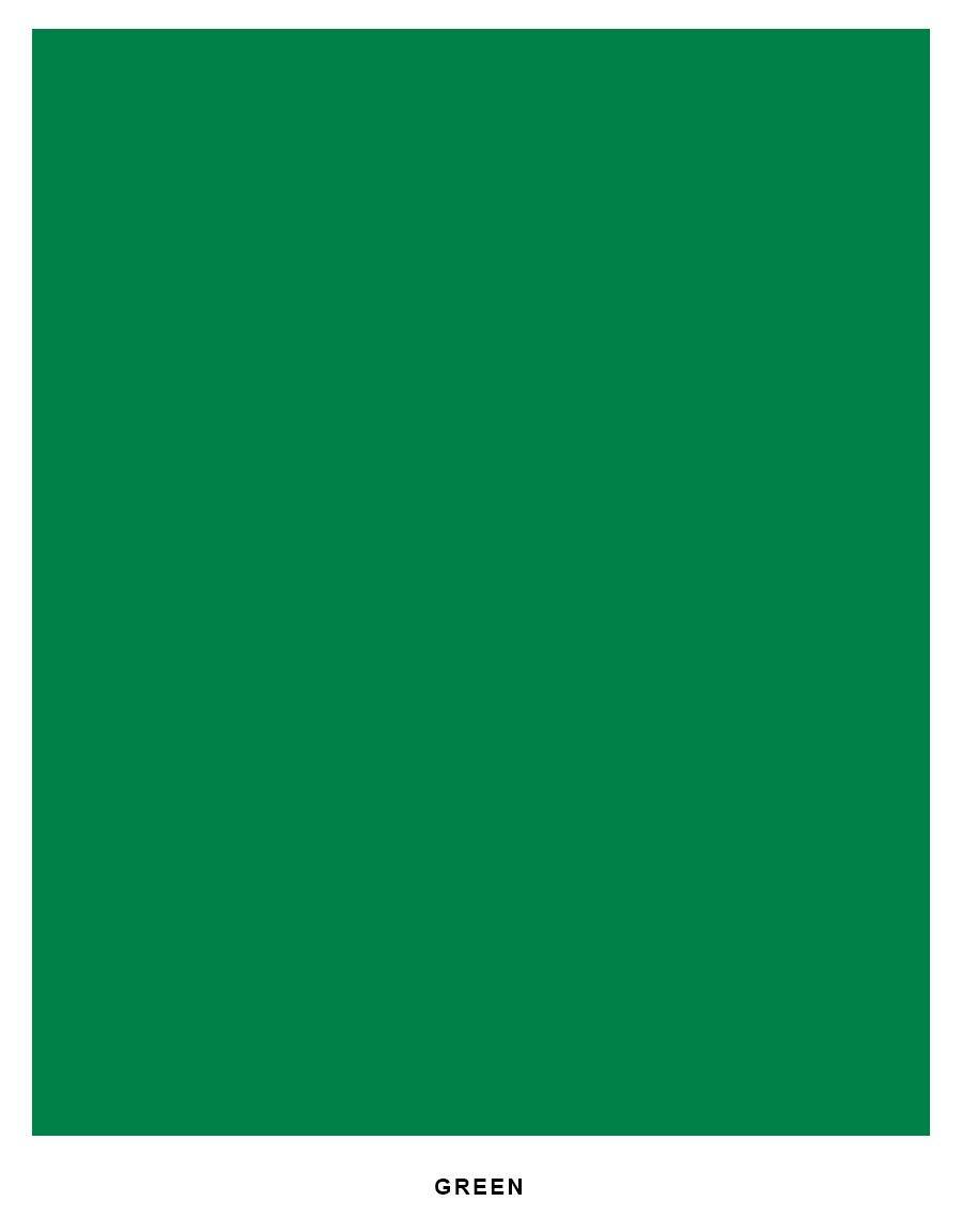 Bright Color Cardstock Paper, 65lb. 8.5 X 11 - 250 Sheets (Green)