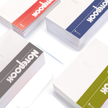 Promotional Pages Custom Printed Perfect Binding Notebooks For Sale