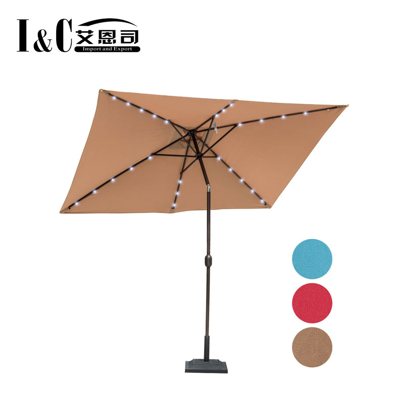 180G polyester outdoor table sun parasol