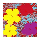Andy Warhol Giclee Canvas Print Paintings Poster Reproduction Fine Art Wall Decor(Flowers2)