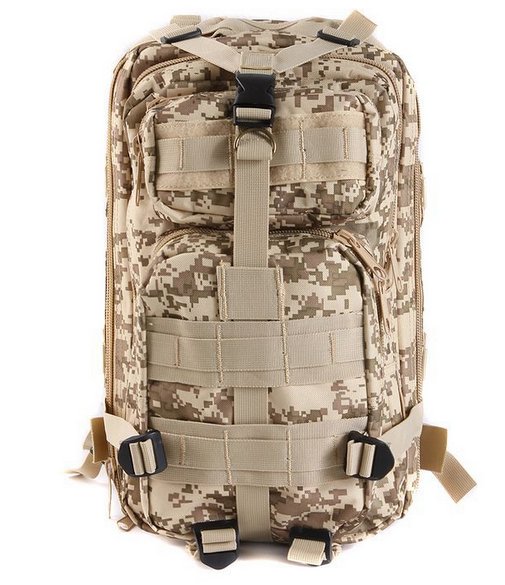 3P attack tactical backpackers outdoor backpack mountain backpack waterproof camouflage bag