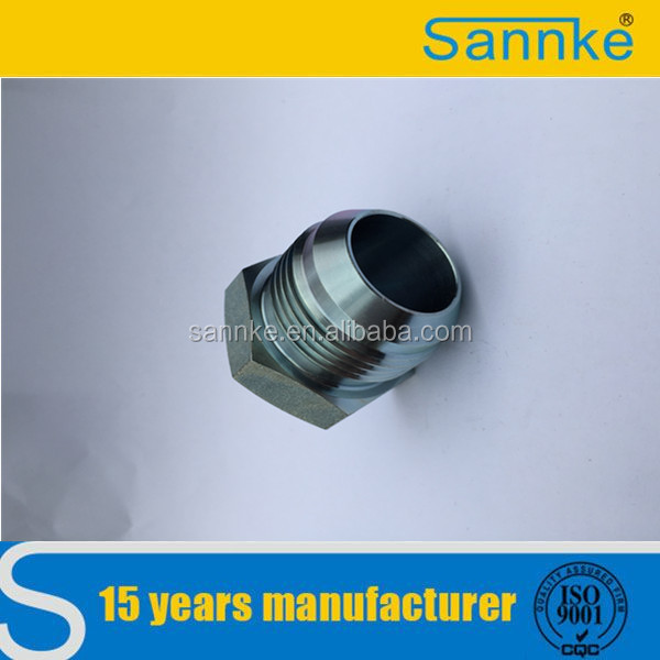 Zinc Plated Hydraulic Male Plug with JIC Screw Thread