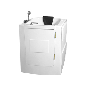 K-8101 Handicapped Safety Bathtub Leak Proof Safety Walk-in Bathtub With Seat Bathtub For Elderly