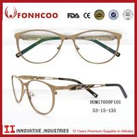 FONHCOOChina Online Buy Irregular Hollow Out Temple Design Eyeglass Optical Frame