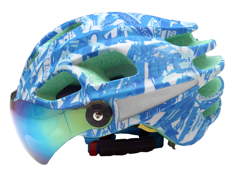 Goggle available aero race road helmets 5