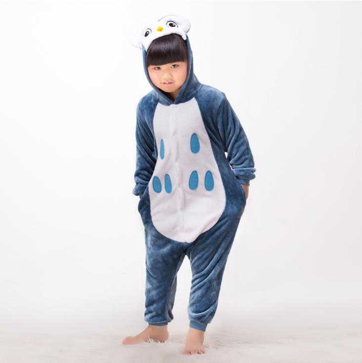 d7e16ed412 Get Quotations · New Kids Costume Onesies Blue Baby Girls Animal Onesie  Boys Anime Owl Onesies for Unisex