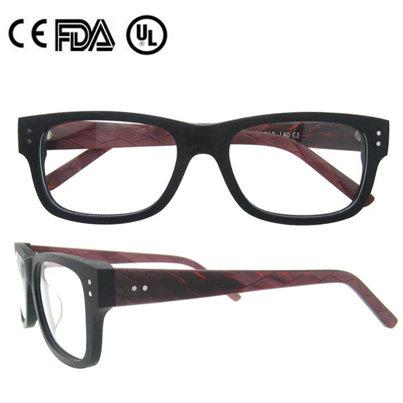 Anteojos recetados gafas de madera marco China gafas de Marcos ...