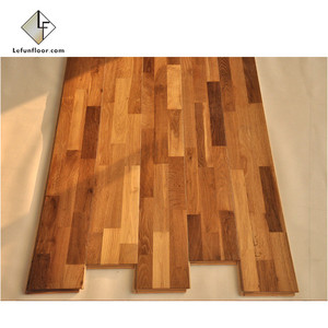 3 layer parquet oak engineered wood flooring