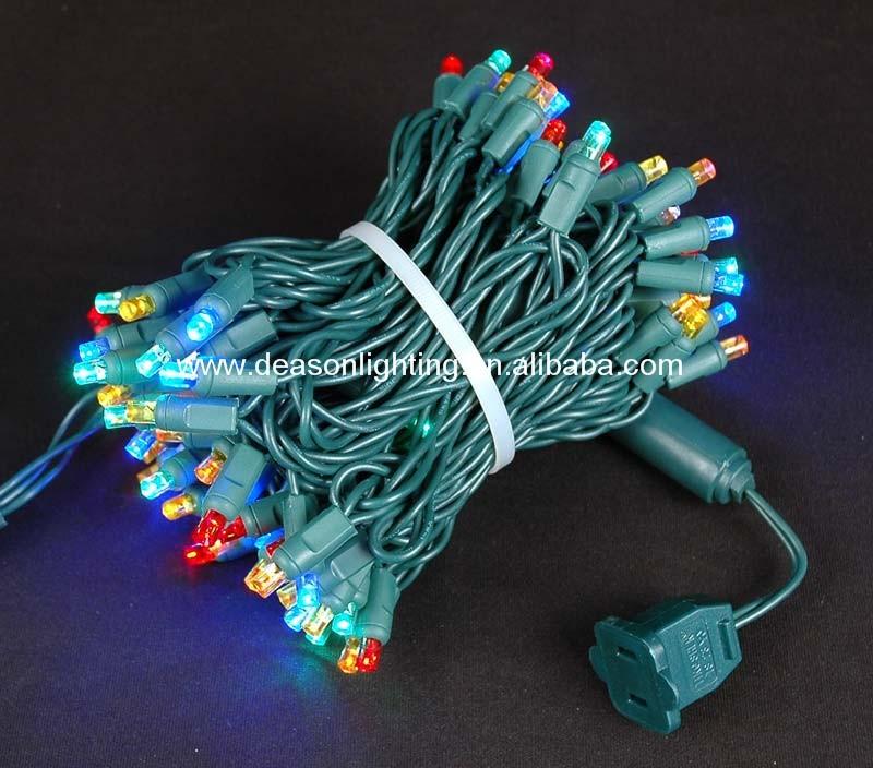 Wide Angle 5mm Led Lights - 70 5mm Amber Led Christmas Lights ...